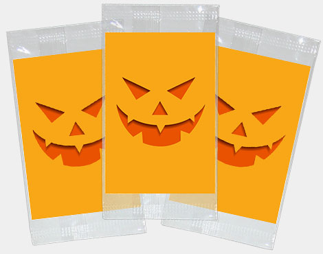 halloween stickers packets